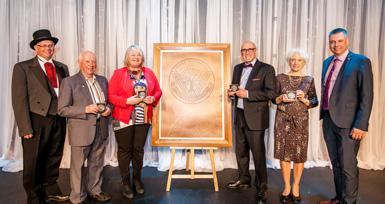L'Ordre Victorien 2018 remis à 4 récipiendaires émérites