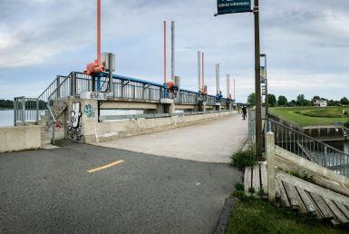 Reprise des travaux au barrage du réservoir Beaudet