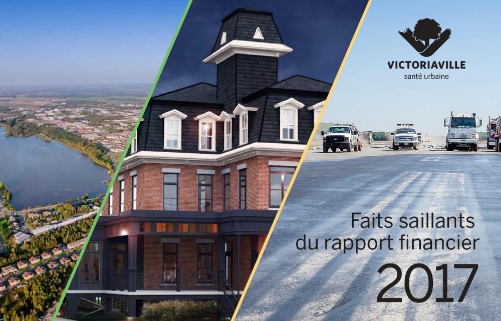 2,8M$ en surplus à Victoriaville en 2017