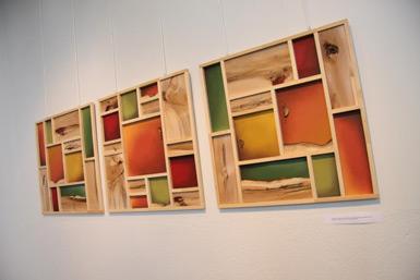 Sylvain Côté expose ses oeuvres à l'hôtel de ville et dans les bibliothèques