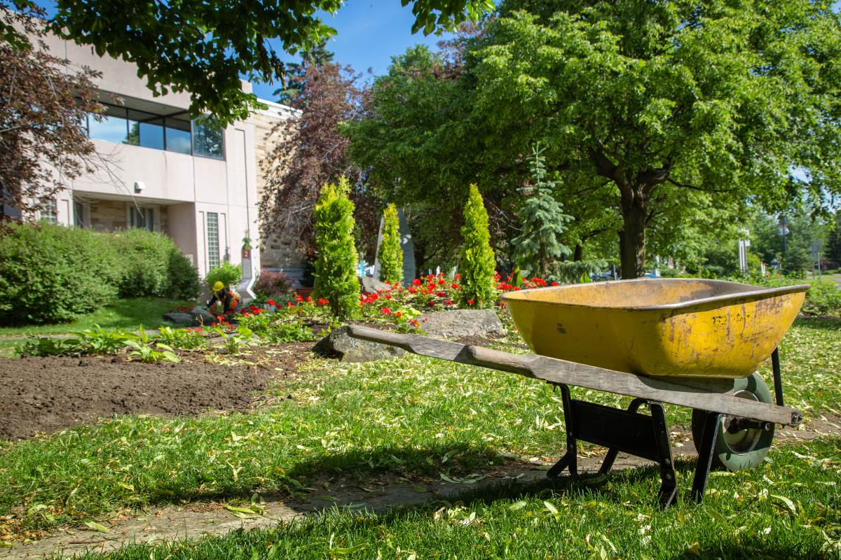 Victoriaville se fait une beauté  pour les Fleurons du Québec