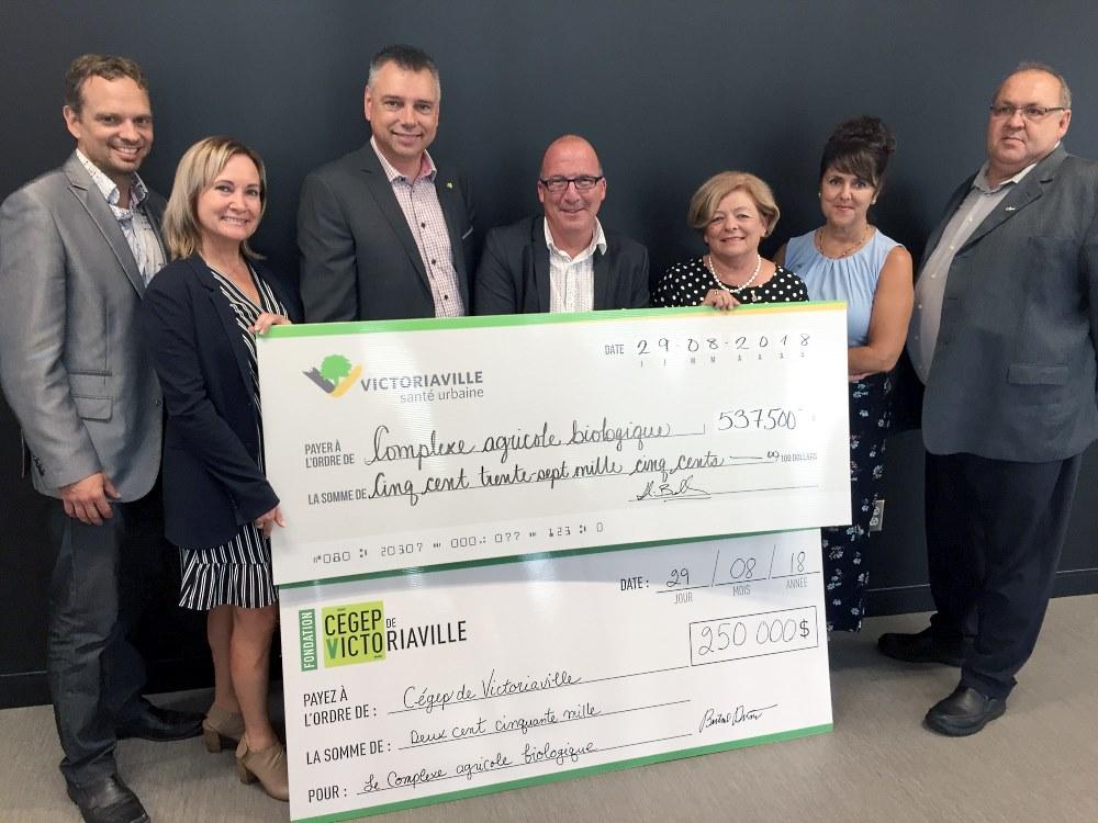 Fiers de soutenir les projets de développement en agriculture du Cégep de Victoriaville