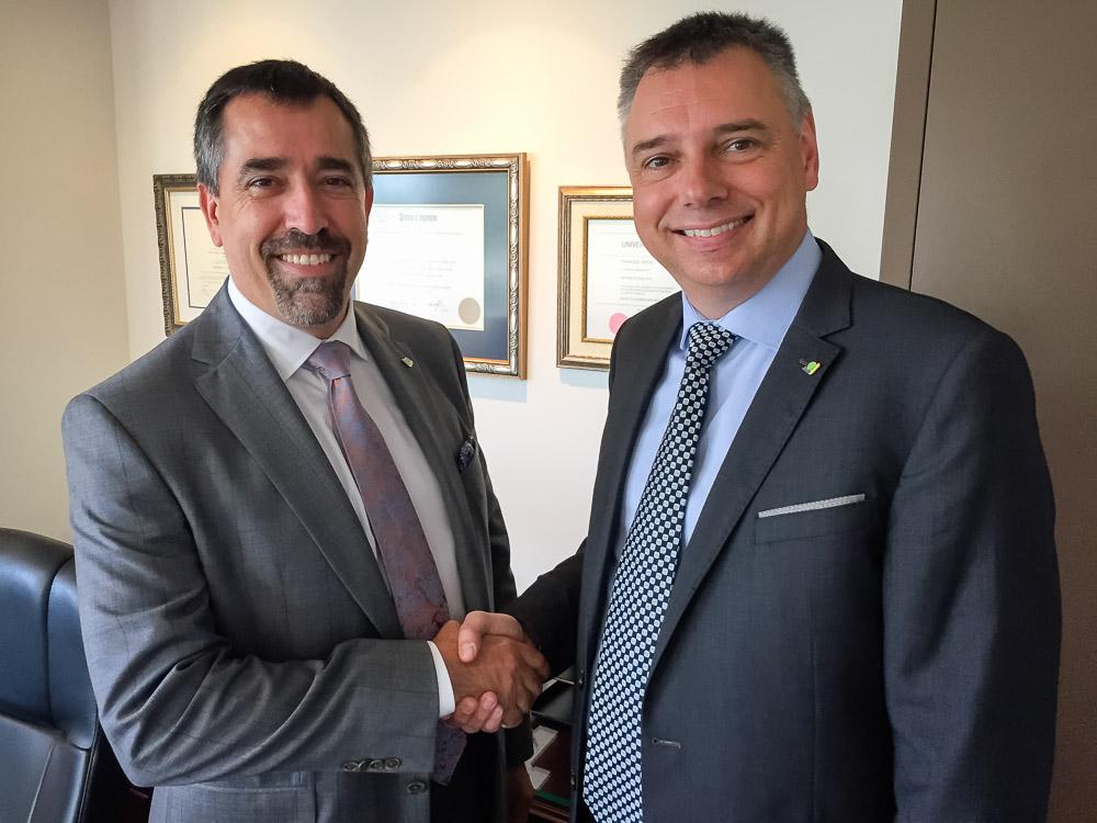 Victoriaville accueille son nouveau directeur général, M. François Pépin