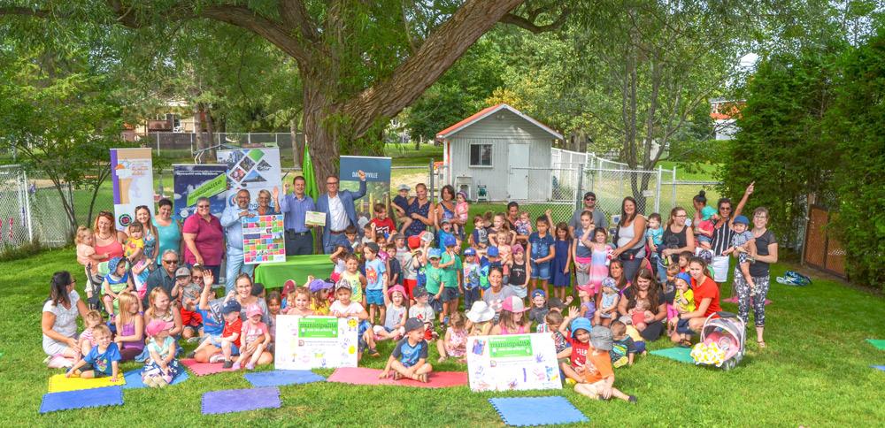 Daveluyville obtient l'accréditation Municipalité amie des enfants (MAE) pour une 2e fois