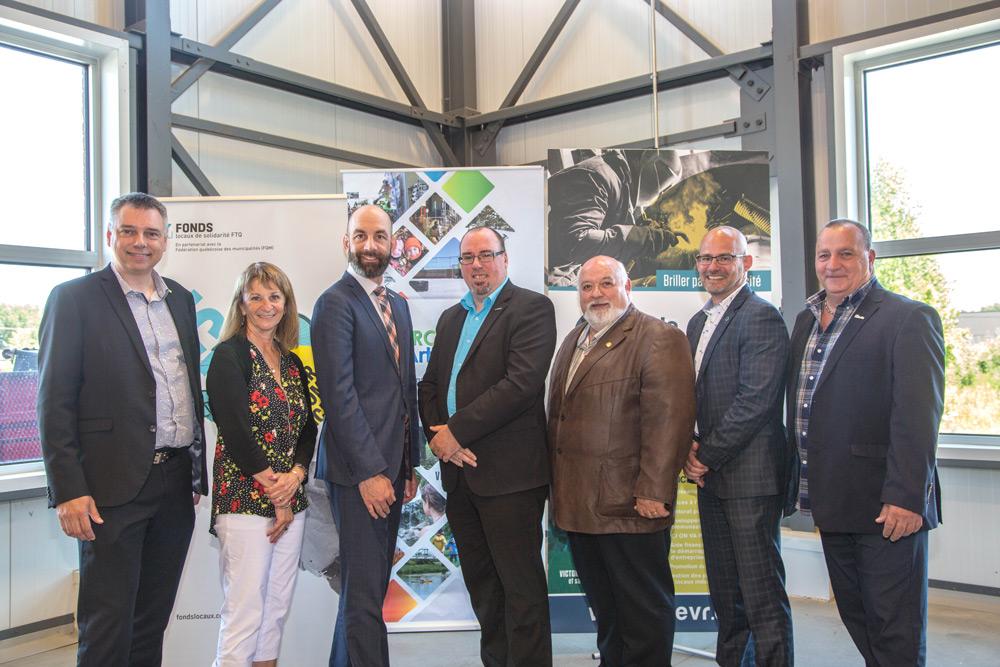 Un nouveau fonds de près d'un million de dollars pour aider les entreprises de la MRC d'Arthabaska