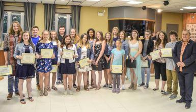 Prix jeunesse 2018: La MRC d'Arthabaska reconnaît l'implication de 20 jeunes sur son territoire