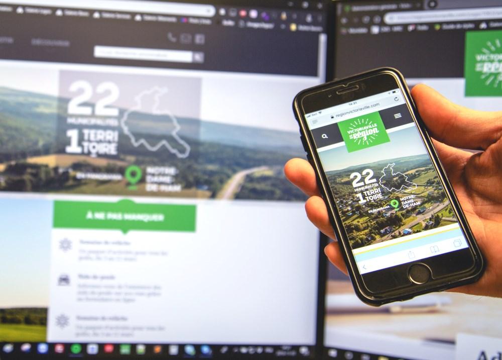 Le site Web de la MRC d'Arthabaska a été remodelé en site Web régional, soit le regionvictoriaville.com. Simplifié et mieux adapté, il permettra aux utilisateurs de trouver aisément de l'information sur les 22 municipalités, des activités, des nouvelles régionales et beaucoup plus.