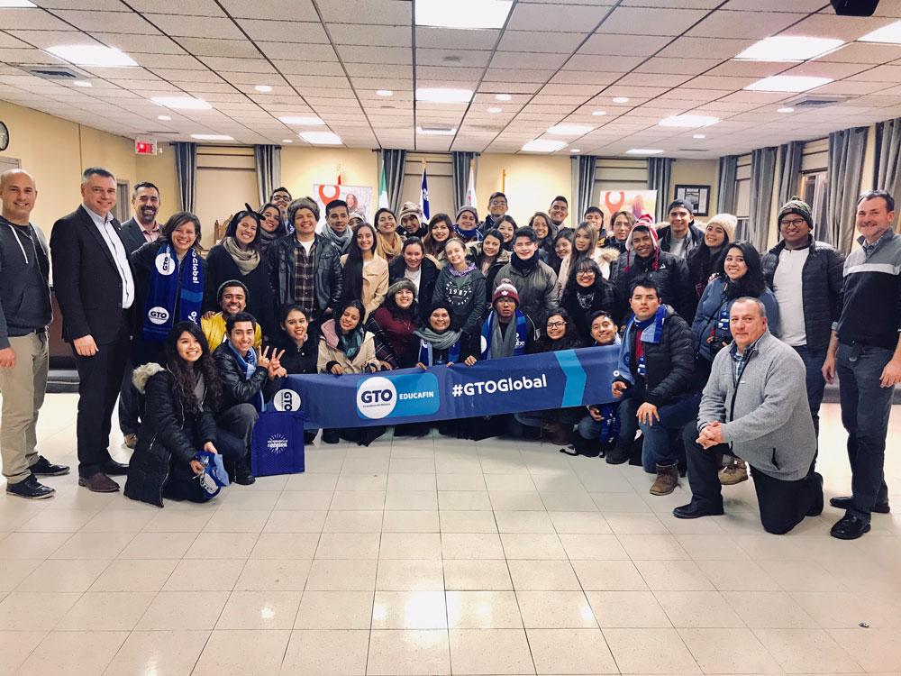 Plus de 120 étudiants mexicains visitent  Victoriaville et sa région