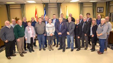 Le Conseil de la MRC d'Arthabaska adopte son budget 2019