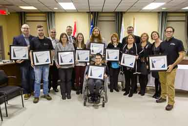 Victoriaville remet son prix d'excellence en accessibilité