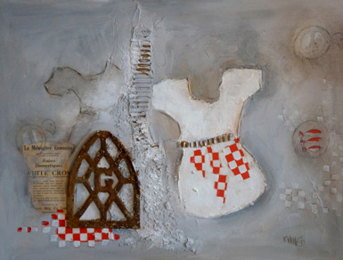 L'artiste en arts visuels  Kristine Vallée expose au mont Arthabaska