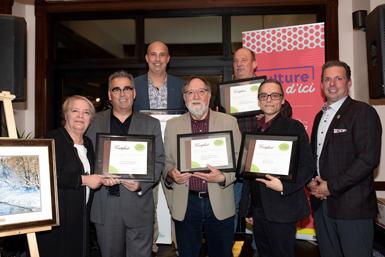 Pierre Carisse honoré lors de la remise des Prix du patrimoine de la MRC d'Arthabaska