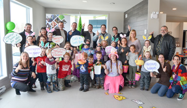 Saint-Rosaire concrétise sa première accréditation Municipalité amie des enfants (MAE)
