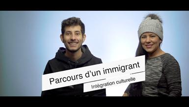 2 capsules vidéo valorisant la langue française auprès des personnes immigrantes