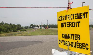 Une dernière phase de travaux s'entame au barrage du réservoir Beaudet