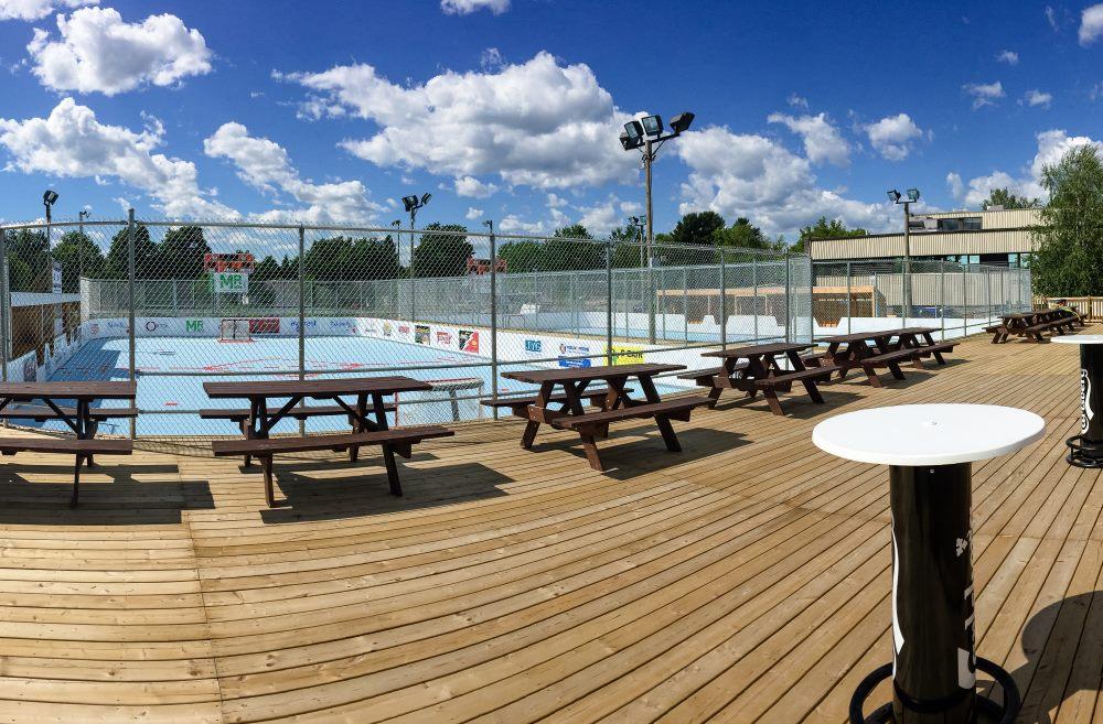 Fin de l'entente avec Dek Hockey Bois-Francs au Centre communautaire d'Arthabaska