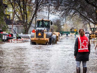 Victoriaville en aide aux sinistrés des inondations
