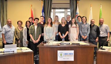 Le conseil jeunesse de la MRC d'Arthabaska dépose ses propositions d'actions municipales