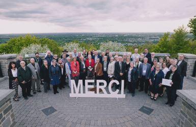 Victoriaville honore 54 bénévoles engagés dans leur milieu
