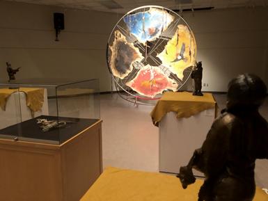 L'artiste Chantal Simard Nattaway expose à la bibliothèque Charles-Édouard-Mailhot