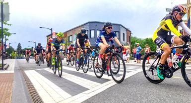 Championnats québécois de critérium à Victoriaville: circulation au centre-ville