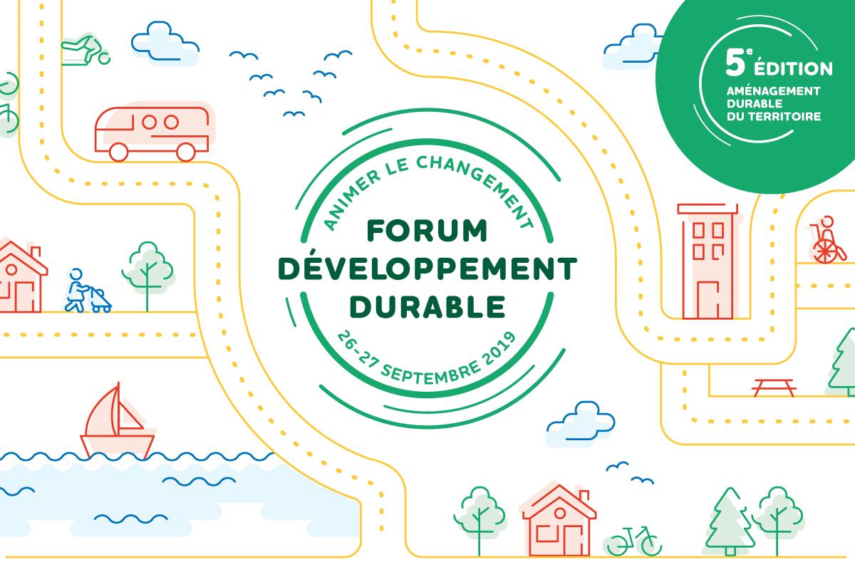L'aménagement durable du territoire, en vedette au Forum DD