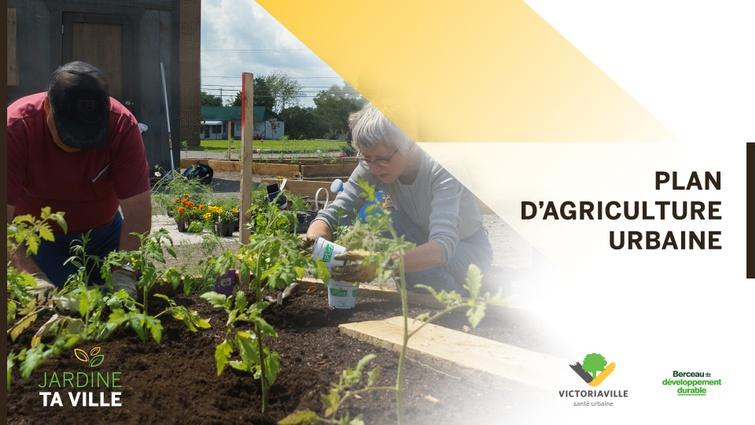 Lors de la séance publique du 1er février, le Conseil municipal a adopté le plan d'action 2021 s'inscrivant dans le Plan d'agriculture urbaine de la Ville de Victoriaville adopté en mars 2020.