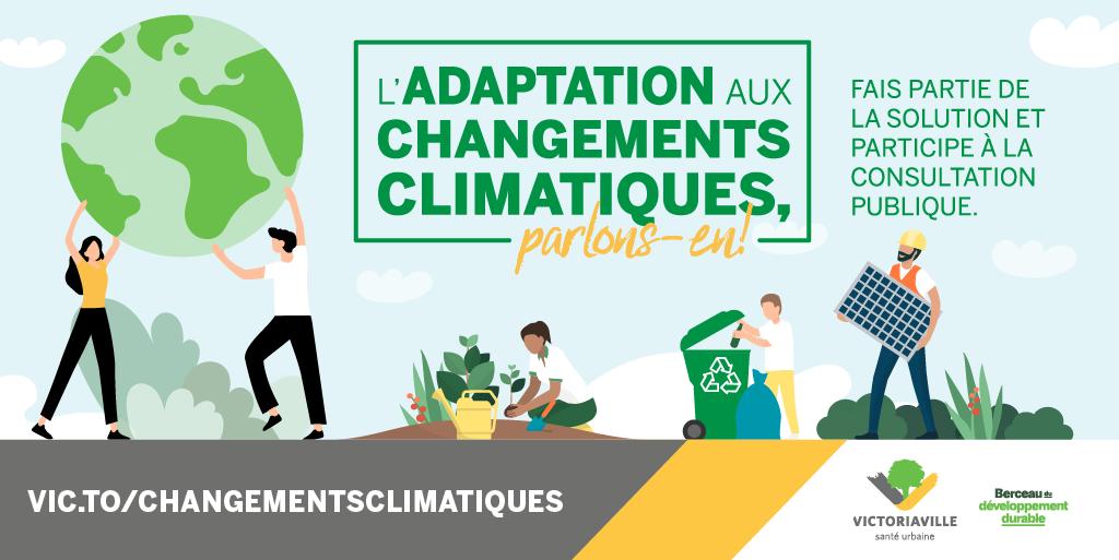 Victoriaville s'engage dans une démarche d'adaptation aux changements climatiques