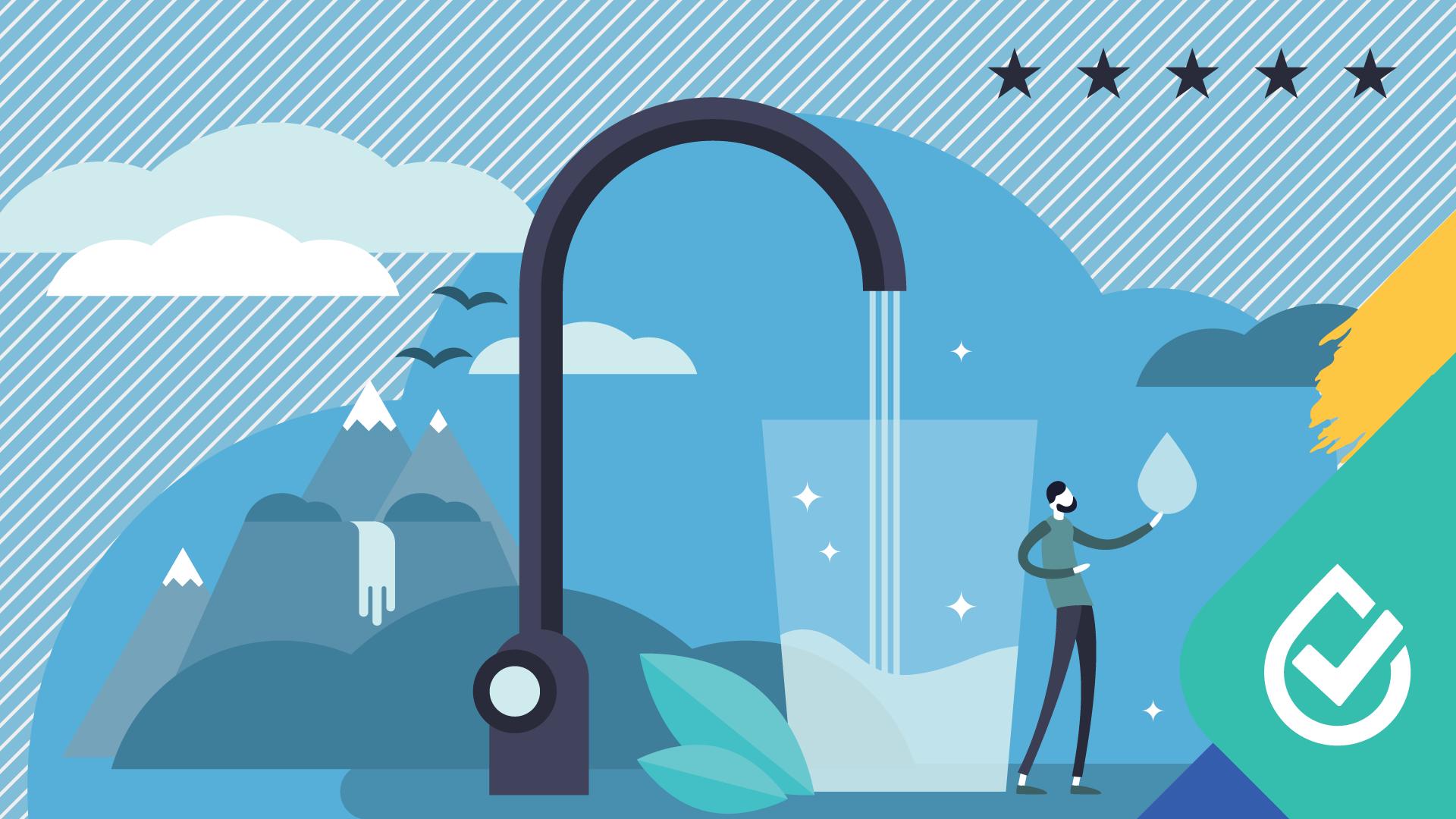 L'eau potable de Victo obtient 5 étoiles  pour une 10e année consécutive